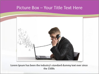 Caucasian middle PowerPoint Template - Slide 15