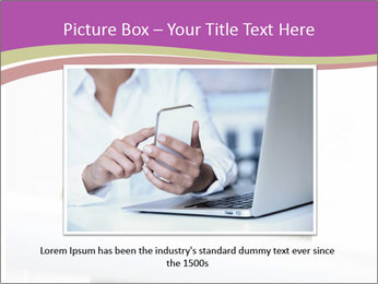 Caucasian middle PowerPoint Template - Slide 16