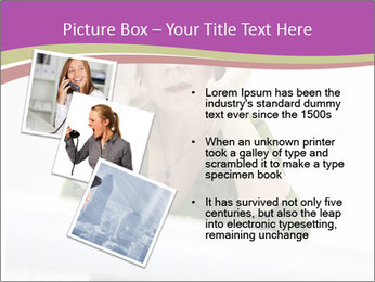 Caucasian middle PowerPoint Template - Slide 17