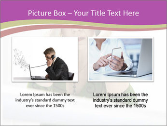 Caucasian middle PowerPoint Template - Slide 18