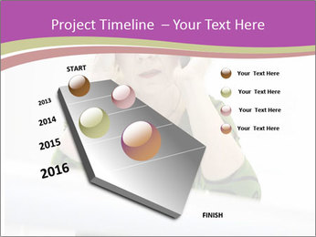 Caucasian middle PowerPoint Template - Slide 26