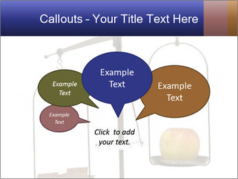 Old scales with apple PowerPoint Templates - Slide 73
