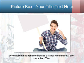 Young man PowerPoint Template - Slide 15