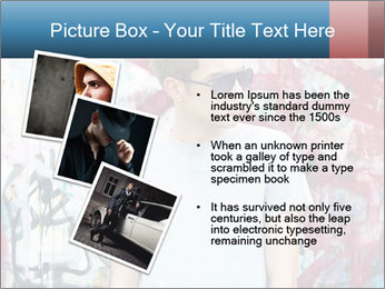 Young man PowerPoint Template - Slide 17