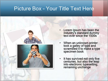 Young man PowerPoint Template - Slide 20