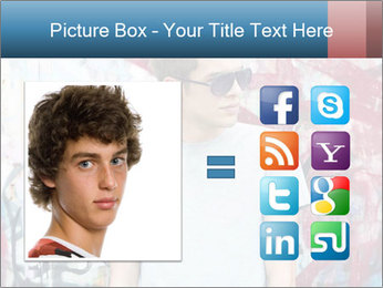 Young man PowerPoint Template - Slide 21