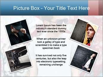 Young man PowerPoint Template - Slide 24