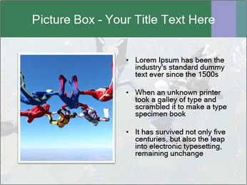Four skydivers PowerPoint Templates - Slide 13