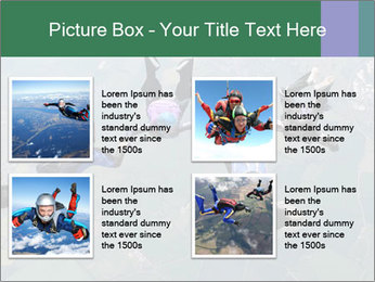 Four skydivers PowerPoint Templates - Slide 14