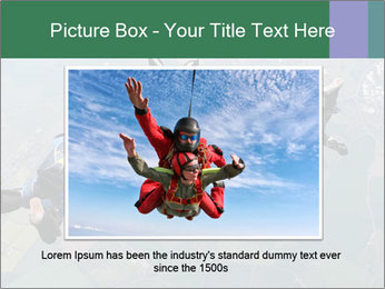 Four skydivers PowerPoint Templates - Slide 15