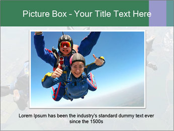 Four skydivers PowerPoint Templates - Slide 16