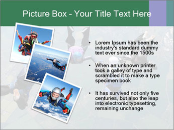 Four skydivers PowerPoint Templates - Slide 17