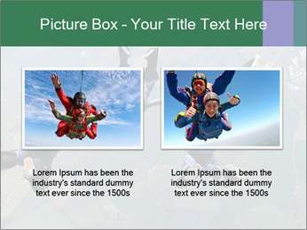 Four skydivers PowerPoint Templates - Slide 18