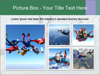 Four skydivers PowerPoint Templates - Slide 19