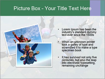 Four skydivers PowerPoint Templates - Slide 20