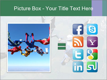 Four skydivers PowerPoint Templates - Slide 21