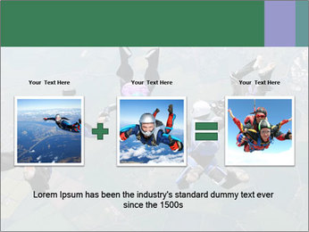 Four skydivers PowerPoint Templates - Slide 22