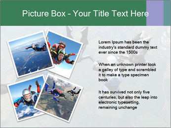 Four skydivers PowerPoint Templates - Slide 23
