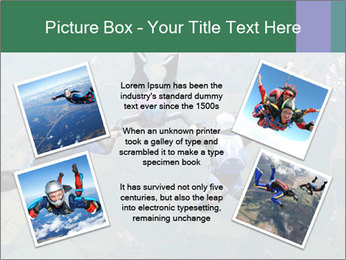 Four skydivers PowerPoint Templates - Slide 24