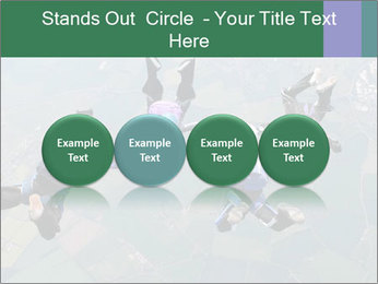 Four skydivers PowerPoint Templates - Slide 76