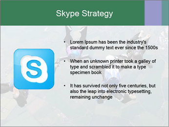 Four skydivers PowerPoint Templates - Slide 8
