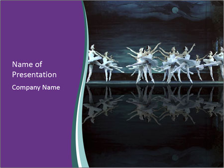 Ballet show PowerPoint Templates