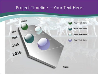 Ballet show PowerPoint Template - Slide 26