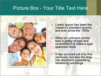 Family Enjoying PowerPoint Template - Slide 13