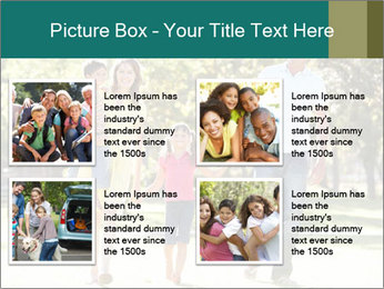 Family Enjoying PowerPoint Template - Slide 14