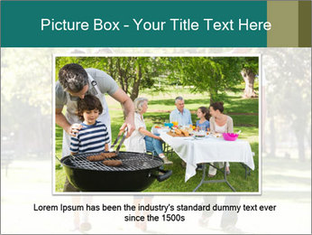 Family Enjoying PowerPoint Template - Slide 15