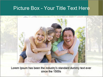 Family Enjoying PowerPoint Template - Slide 16