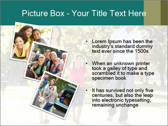 Family Enjoying PowerPoint Template - Slide 17