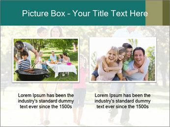 Family Enjoying PowerPoint Template - Slide 18