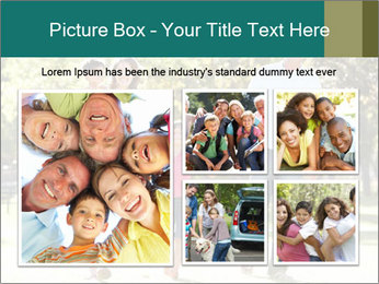Family Enjoying PowerPoint Template - Slide 19