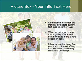 Family Enjoying PowerPoint Template - Slide 20