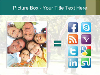 Family Enjoying PowerPoint Template - Slide 21
