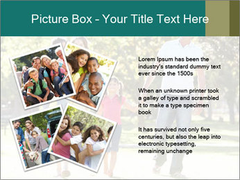Family Enjoying PowerPoint Template - Slide 23