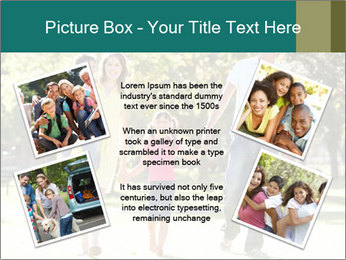Family Enjoying PowerPoint Template - Slide 24