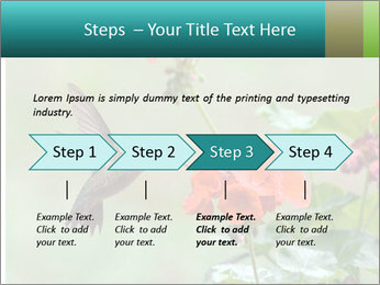 Male ruby-throated PowerPoint Templates - Slide 4