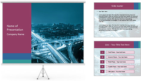 City Scape PowerPoint Template