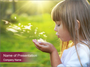 Summer PowerPoint Template - Slide 1