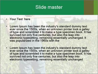 Farmer PowerPoint Template - Slide 2