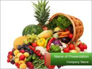 Fresh Vegetables PowerPoint Templates