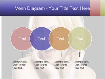 Gorgeous blonde babe poses PowerPoint Template - Slide 32