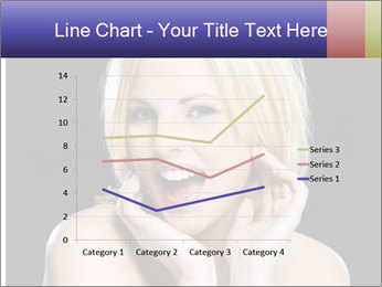 Gorgeous blonde babe poses PowerPoint Template - Slide 54