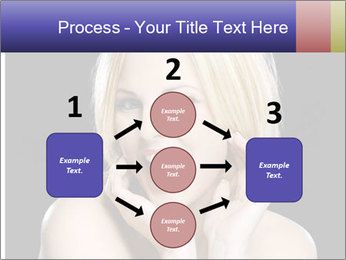 Gorgeous blonde babe poses PowerPoint Templates - Slide 92