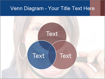 Beautiful young woman teeth PowerPoint Template - Slide 33
