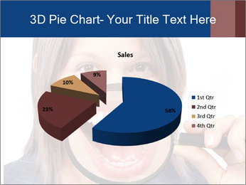 Beautiful young woman teeth PowerPoint Template - Slide 35