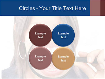 Beautiful young woman teeth PowerPoint Template - Slide 38