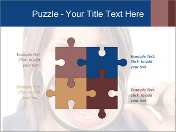 Beautiful young woman teeth PowerPoint Template - Slide 43
